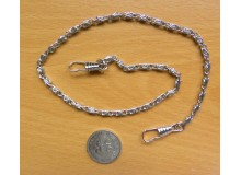 *G138-* Metal chain-silver 40cm and 120cm
