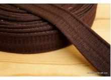 *G205-* Webbing: Line in brown 3.8cm