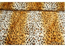 *F564(10)* Cheetah prints with fur effect (yard)