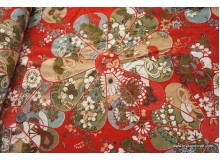 *F280* CL:The Japanese vintage flower (FQ/yard)