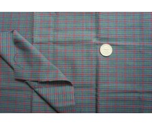 *F648(10)* C/Linen: Red/ dark blue checks theme (fixed)