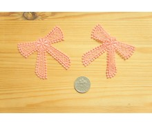 *R482(10/3)* Embroidery patch: Pastel pink ribbon