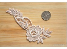 *R257(10/3)* Embroidery patch: Flower4