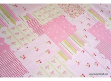 *F329(10)* Cotton: Country patches