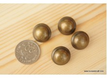 *B210(10/4)* The round vintage button (3pcs)
