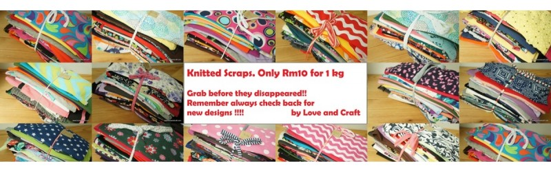 Knitted scrap