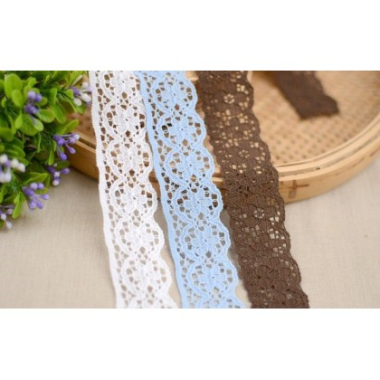 Lace: Flower in circle 2.0cm *70366*