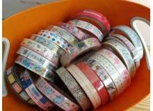 *Z00127(SALE) * Cute Glossy Tape Big (Rm10 for 4)