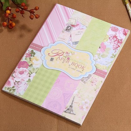 *Z00108* Wrapping paper book (2 designs)