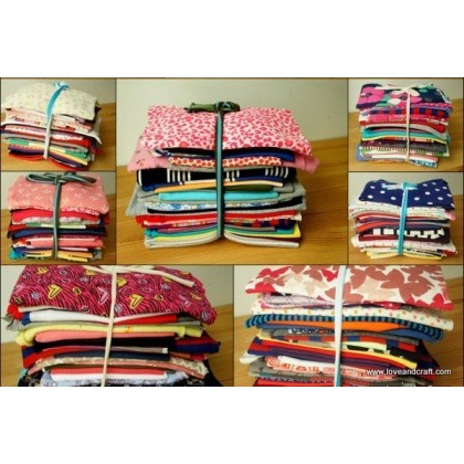 *900001* Assorted Knit Scrap by KG