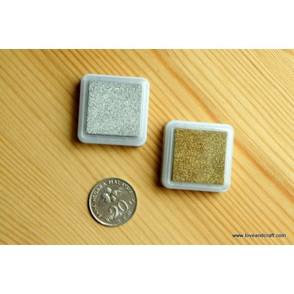 *Z00150(10/3)* Gold/silver stamp pads