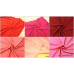 *FN0004(20)-* Knit Fabric: Plain Red / Pink