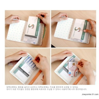 *T00237* Card holder - big