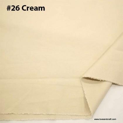 Cotton Canvas Plain Colour