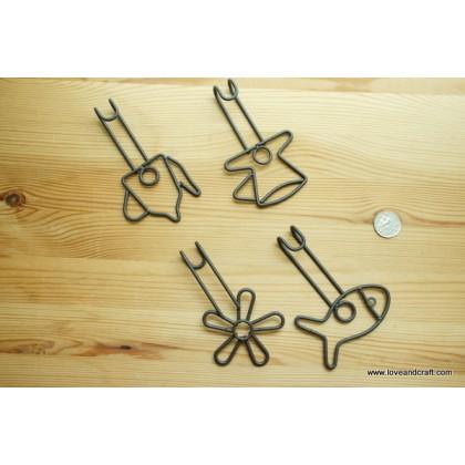 *Z00110* Metal hook set of 4