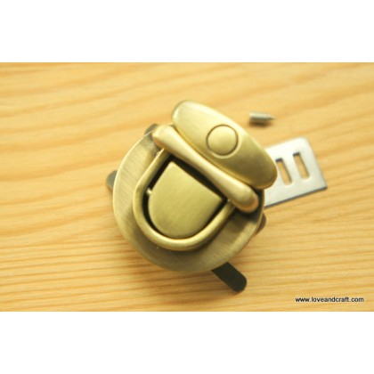 *T00366~* Metal Bag Lock 2.5cm