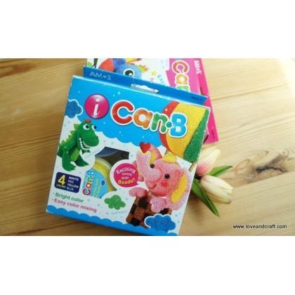 *SH001-* Clay: iCan bead clay 4-color kit set