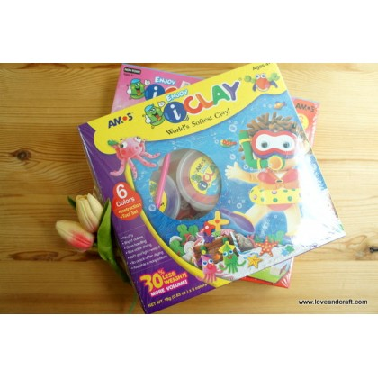 *SH003* Clay: iClay 6-color kit set