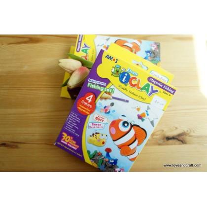 *SH005* Clay: Enjoy iClay magnetic fishing set (4 colors)