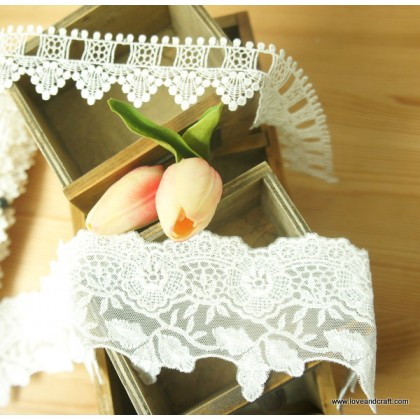 *R00518* Lace: Beautiful embroidery theme