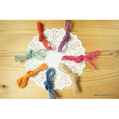 *R00519(10/3)-* Colourful Linen String (7pcs)