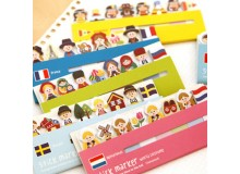 *Z00137(10/3)* Sticky tag / note (6 designs)