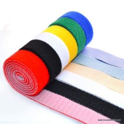 *700547~* Velcro : Assorted Color 2.0cm