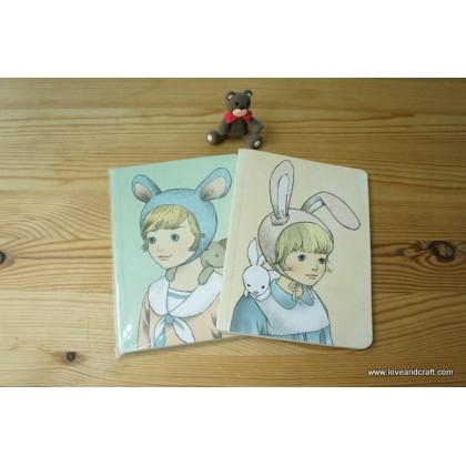 *Z00139* Elegant illustration notebook (2 books)