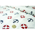 *FC00792* Cotton: Lifebuoy and Anchor 160cm