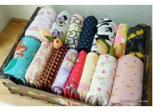 *FT2566(20)-* Knit fabric: Assorted cartoons and patterns (fix)