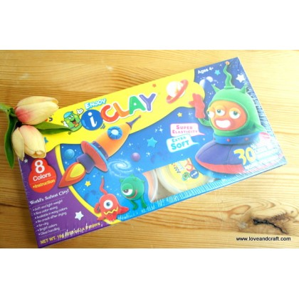 *SH010* Clay: Enjoy iClay 8-color kit set