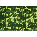 *FN02646-* Jersey Knit: Camouflage on Green Theme