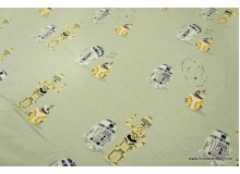 *FT2672-* Jersey Knit: Star Wars Robots