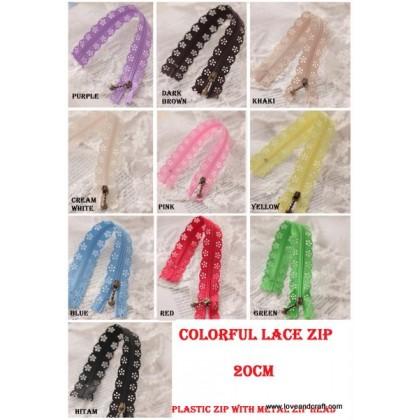Lace Zip 20cm (68420)