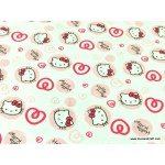 *FN02721* Jersey Double Knit: Hello Kitty On White