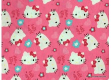 *FN02760* Jersey Knit: Hello Kitty On Pink (170cm)