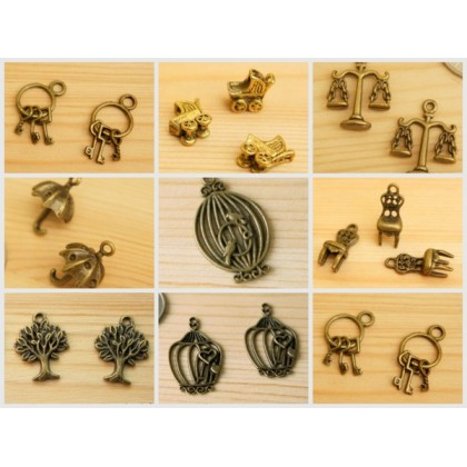 *P00200(SALE)* Charm / Zip Head CLEARANCE