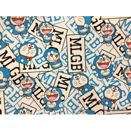 *800230* Canvas: Blue Doraemon (140cm)
