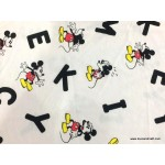 *FN02792(SALE)* Jersey Mickey Mouse and Text (150 cm)