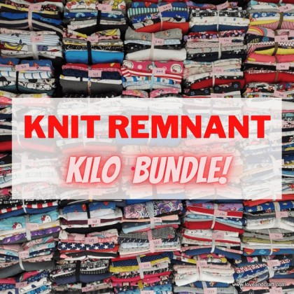 *S10002* Knit Remnant Bundle KG