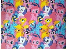 *FV00280* Canvas: Colorful Pony (140cm)