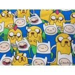 *800302* Canvas: Adventure Time (140cm)