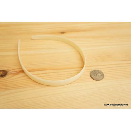 *J00148(10/3)~* Plastic headband 1.0cm (3pcs)
