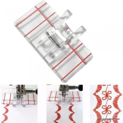 *T00353~* Footer: Border Guide Presser Foot