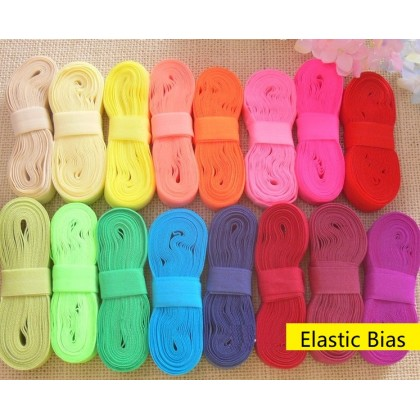 *700591* Elastic Band: Assorted Colours (1.5-2.0cm)