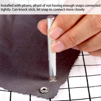 *60381*  Snap Button and Plier Tool set