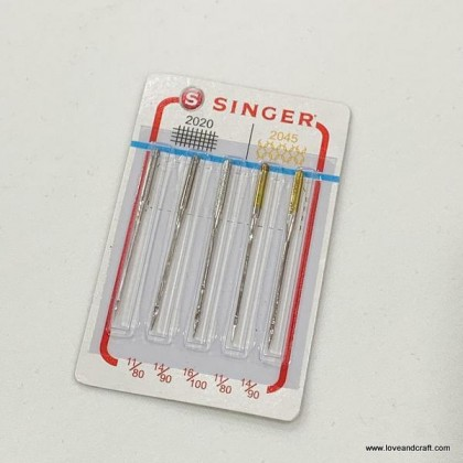 *60345* Singer Needle Set for Woven and Knit