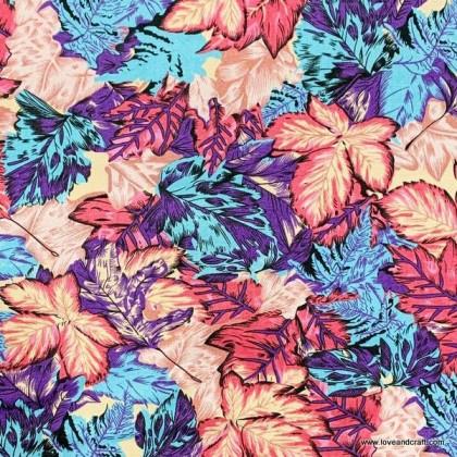 *800359* Canvas : Leaves (140cm)