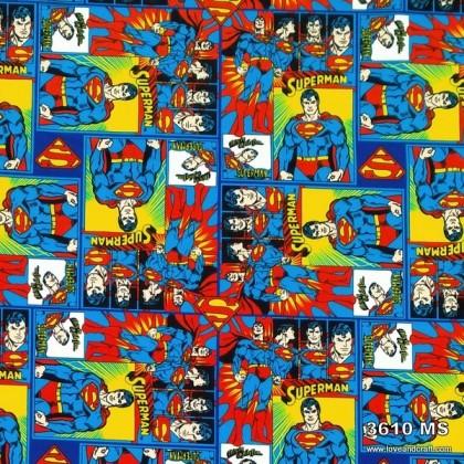 *903610* Milk Silk: Superman (160cm)