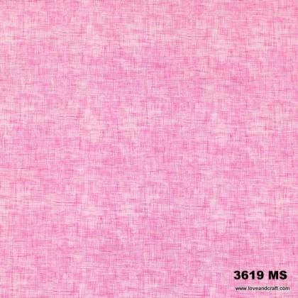 *903619* Milk Silk: Pink Linen Print (160cm)